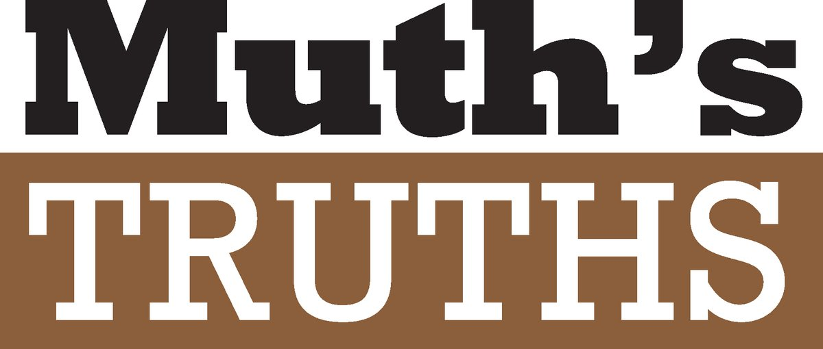 Muth's Truths: September 21, 2018