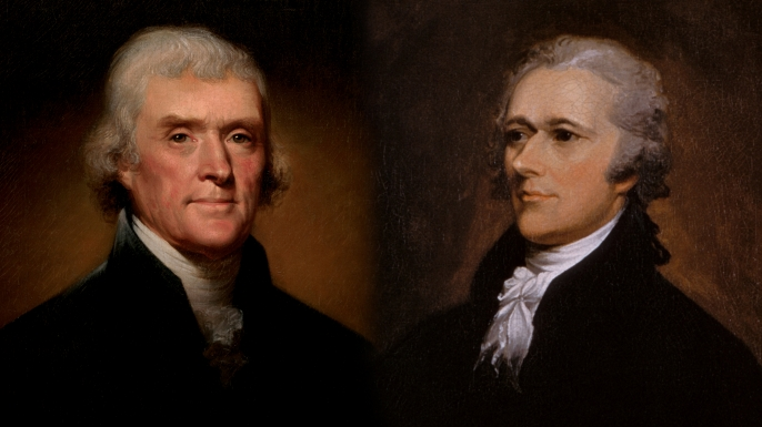 a comparison between alexander hamilton and thomas jefferson