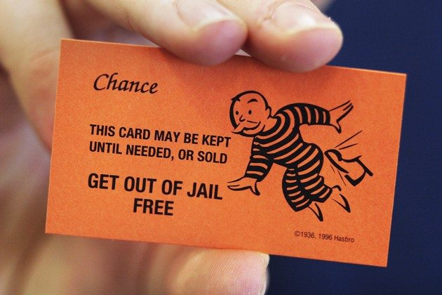 Big Apple Issues Blanket Get-Out-of-Jail Free Cards