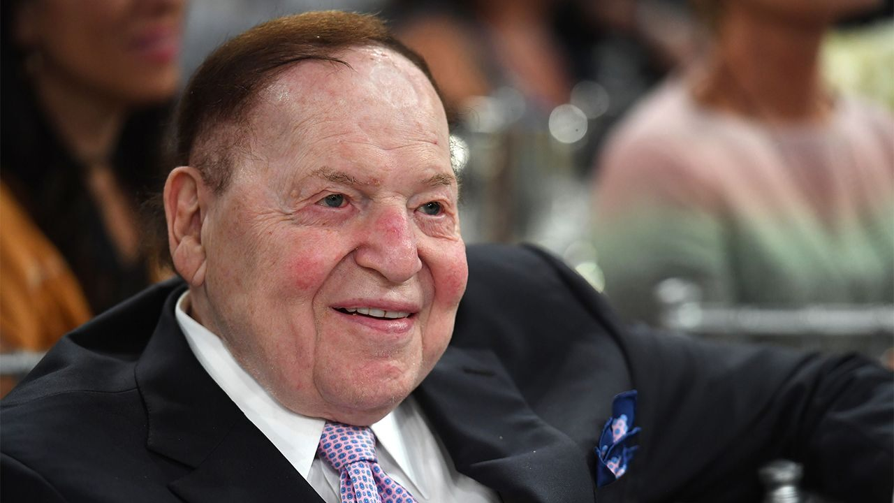 Thank You, Mr. Adelson!