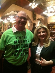 Me and Michele at Nevada GOP fundraising reception in Carson City during this year's session